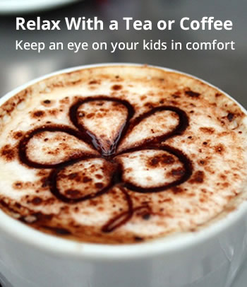 Relax with a coffee